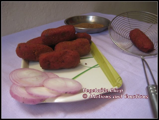 Bengali Style Vegetable Chop / Vegetable Croquettes