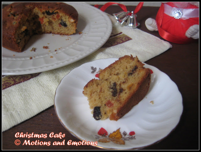 Easy Christmas Cake Recipe| Alcohol-free Christmas Cake