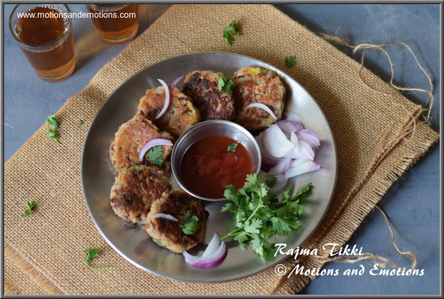 Rajma Tikki |How to make Kidney Bean Patties