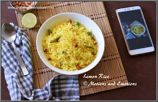 How to make Lemon Rice| Chitranna Recipe