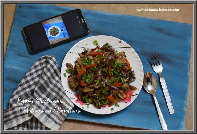 Pepper Mushroom / Mushroom Kalimirch