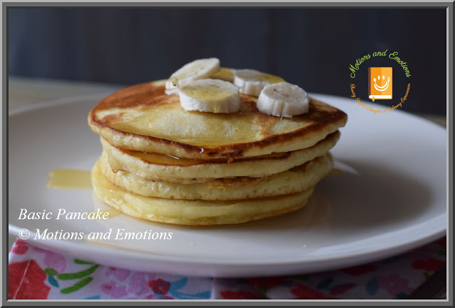 Easy Pancake Recipe | Basic Pancake Recipe