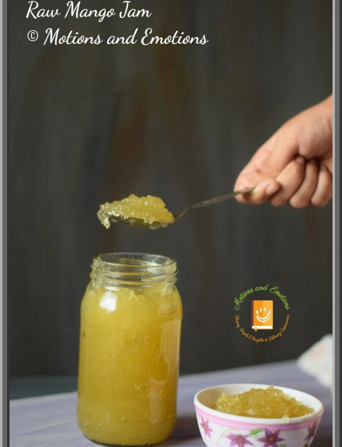 Raw Mango Jam Recipe
