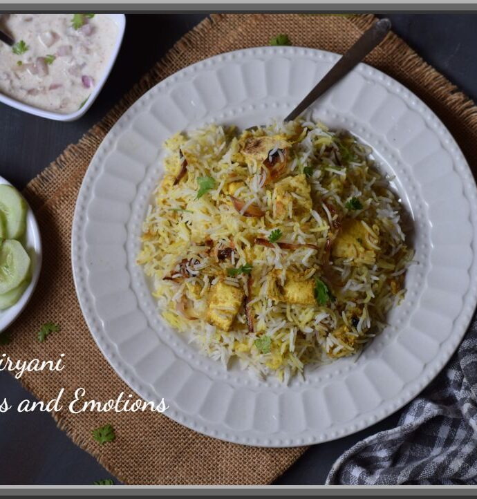How to make Paneer Biryani