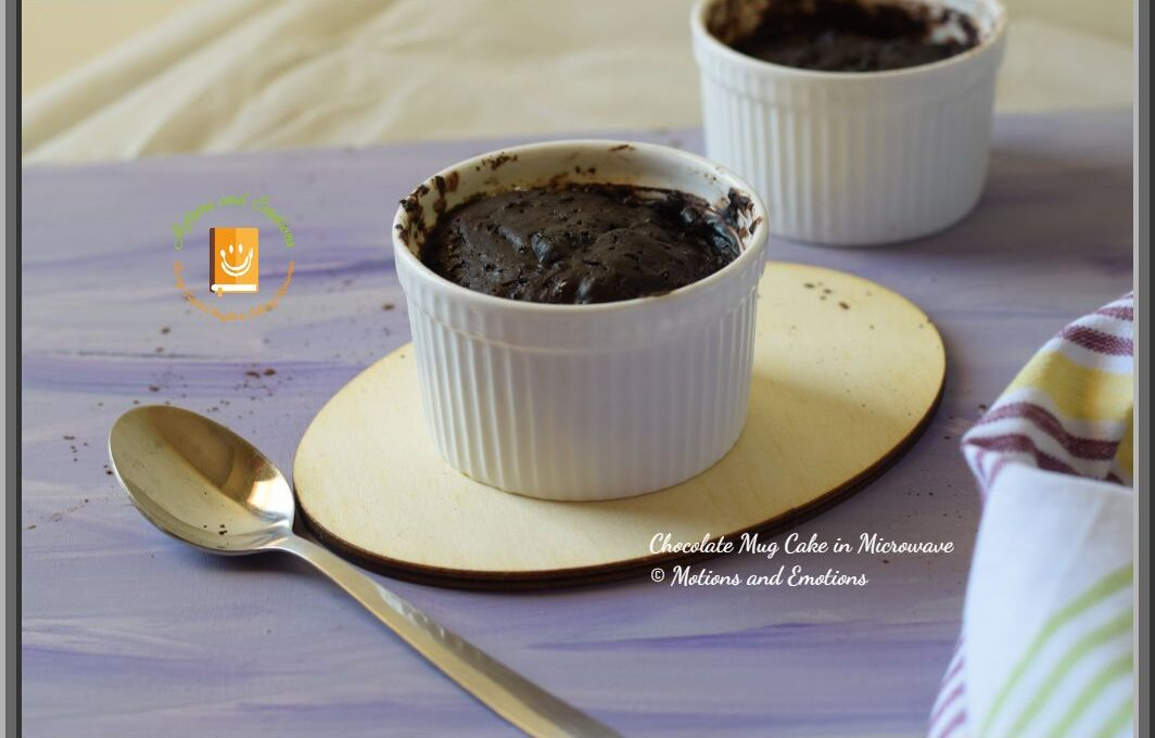 Chocolate Mug Cake in Microwave