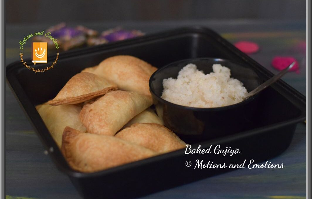 How to make Baked Gujiya